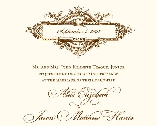 Atlanta wedding. Invitations by betsywhite.com - Beth and Jason 5