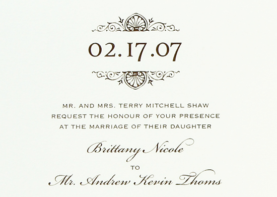 Georgia wedding. Invitations by betsywhite.com - Brittany and Andy 5