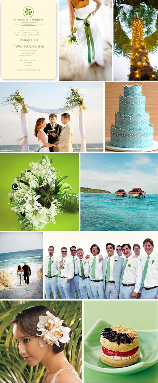 wedding inspiration board: destination wedding 1