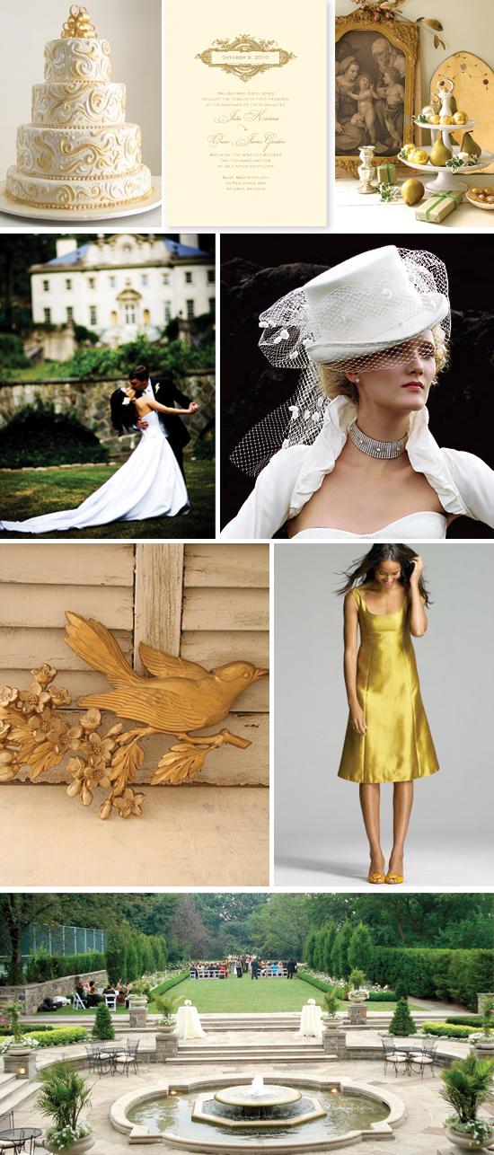 wedding inspiration board: formal elegance