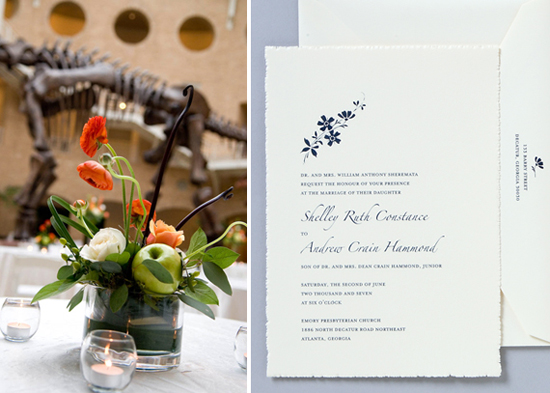 Atlanta wedding. Invitations by betsywhite.com - Shelley and Andrew 5