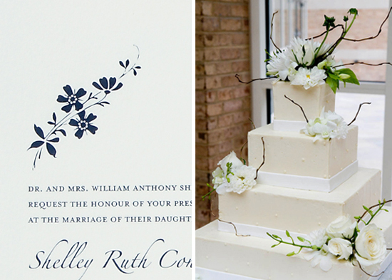Atlanta wedding. Invitations by betsywhite.com - Shelley and Andrew 6