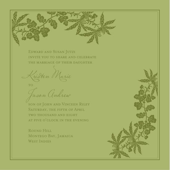 Destination wedding in Jamaica. Invitations by betsywhite.com. Kristen and Jason 5