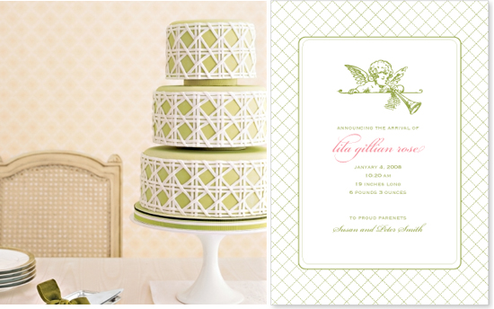wedding invitation and cake inspiration 2