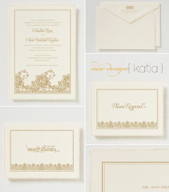 new wedding invitations from betsywhite.com - katia