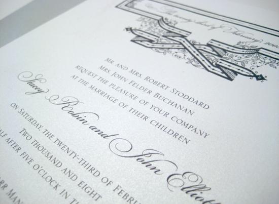 Victoria wedding invitation by betsywhite.com