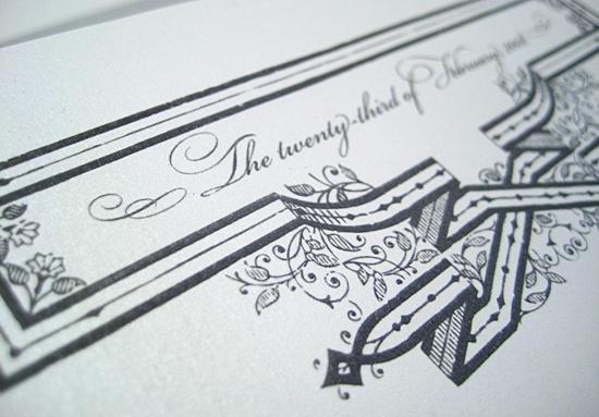 betsywhite stationery boutique - wedding invitation