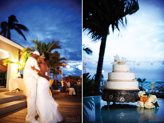 Destination wedding in Jamaica, invitations be betsywhite.com. Ceshia and Anthony 10