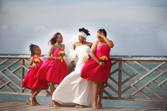 Destination wedding in Jamaica, invitations be betsywhite.com. Ceshia and Anthony 2