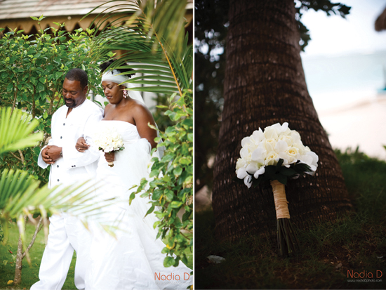 Destination wedding in Jamaica, invitations be betsywhite.com. Ceshia and Anthony 5