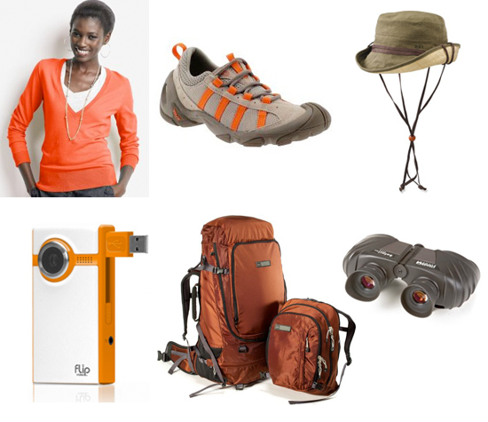 safari gear, packing for safari honeymoon