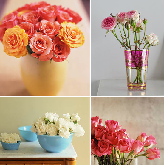 year-round wedding flowers: roses