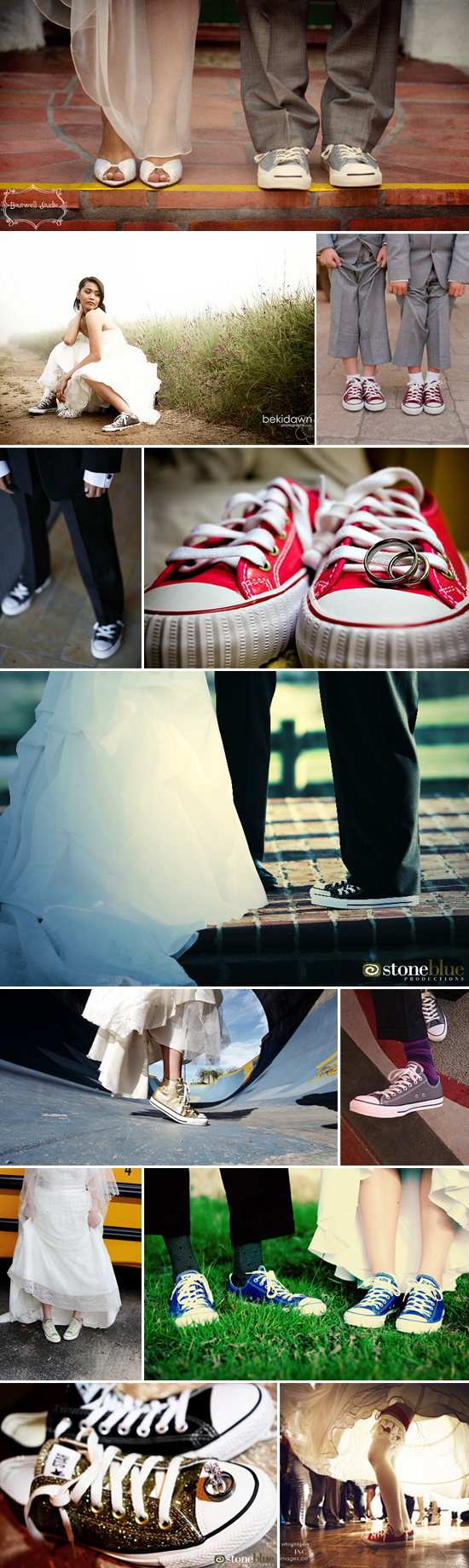 wedding trends: converse