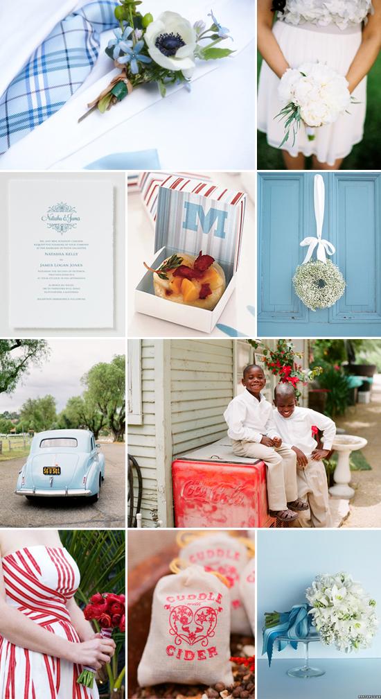wedding inspiration: quaint country chic