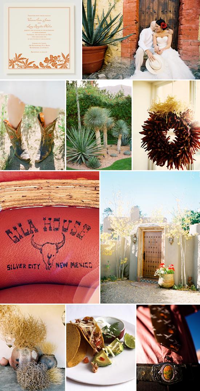 wedding inspiration: southwestern style