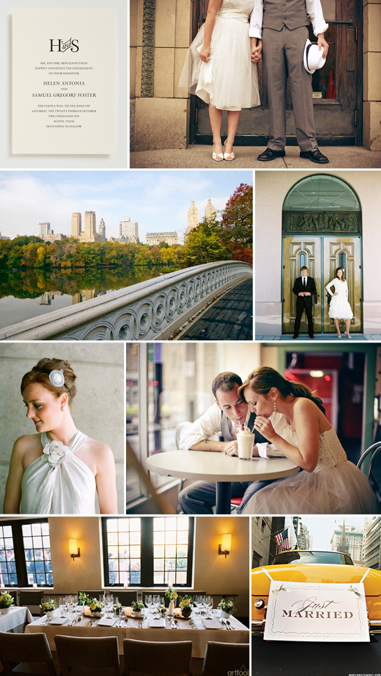 wedding inspiration: courthouse wedding in the city