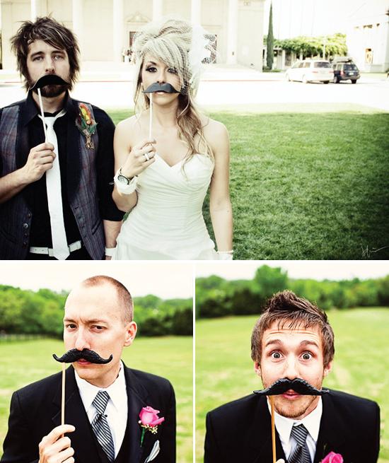 moustache portraits