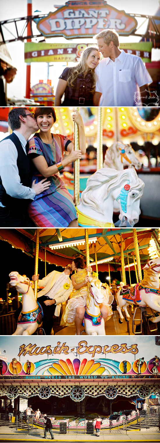 wedding trends: carnival merry-go-round