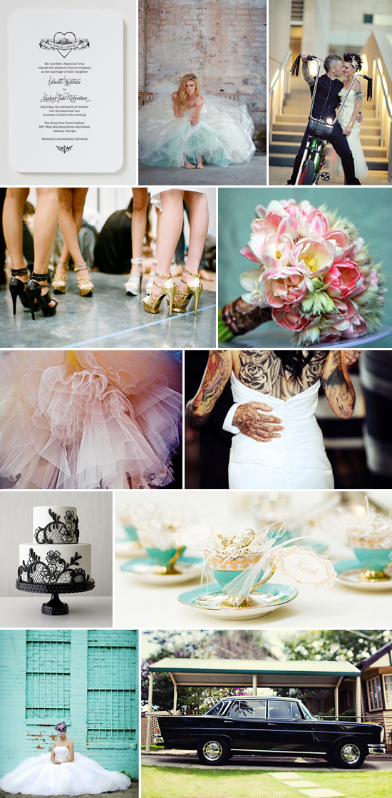 tattoo bride wedding inspiration