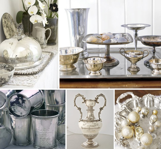 classic wedding finds: vintage silver