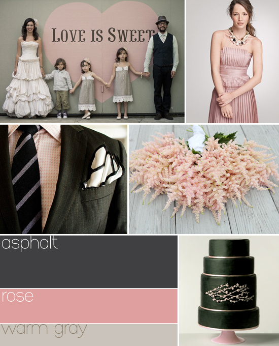 non traditional wedding colors