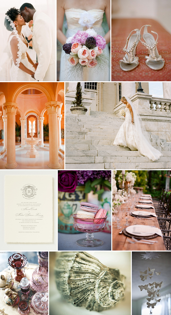 wedding inspiration: eclectic elegance
