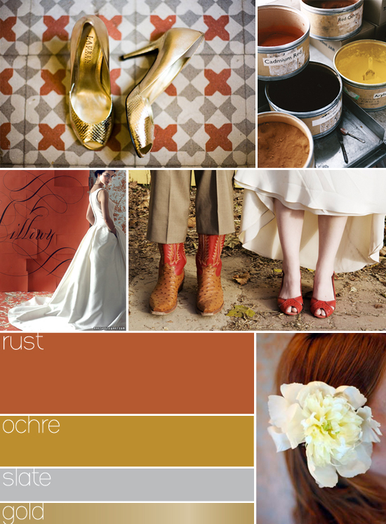 color palette for fall wedding