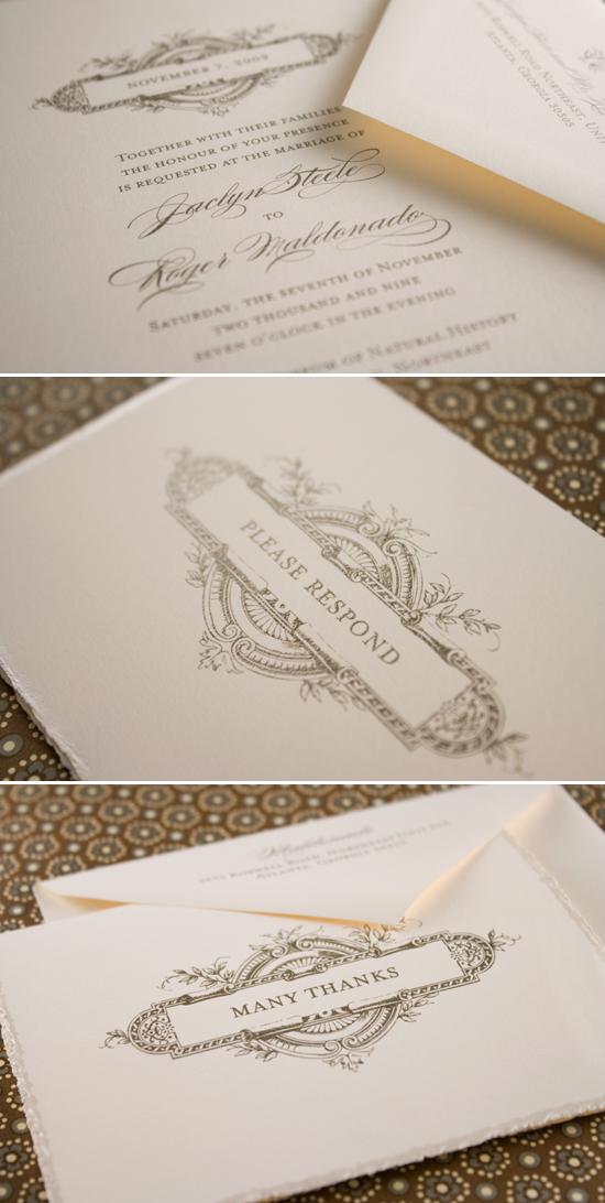 wedding invitations by betsywhite stationery