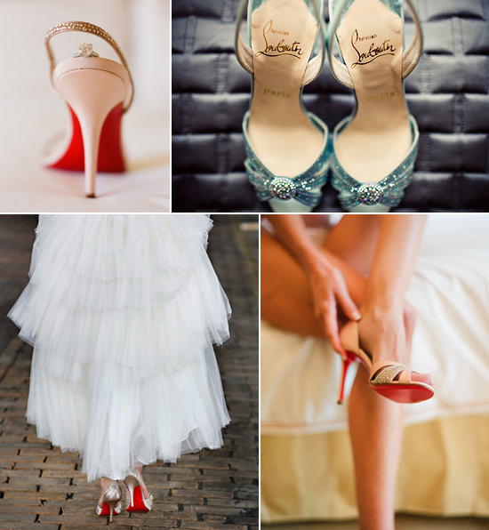 Wedding shoes - Christian Louboutin