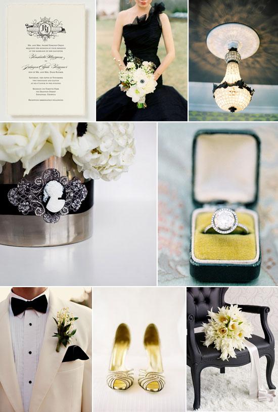 glamorous wedding inspiration