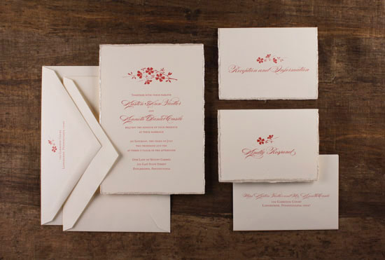 wedding invitations: how to stuff your envelopes