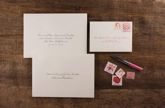how to stuff invitation envelopes