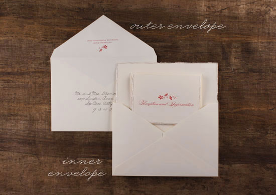 stuffing invitation envelopes