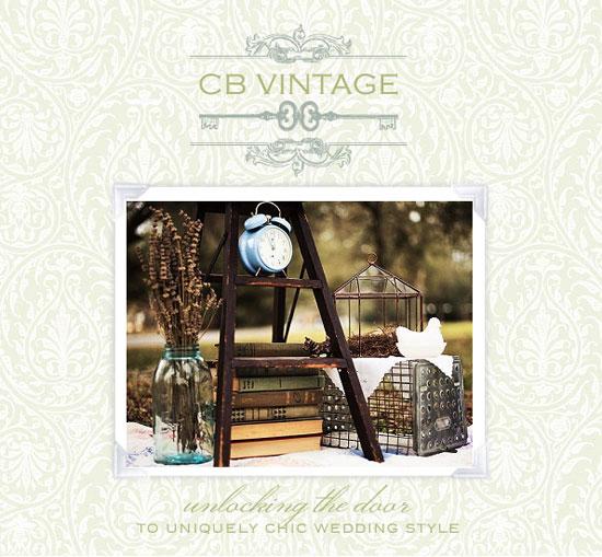 CB Vintage, vintage wedding finds