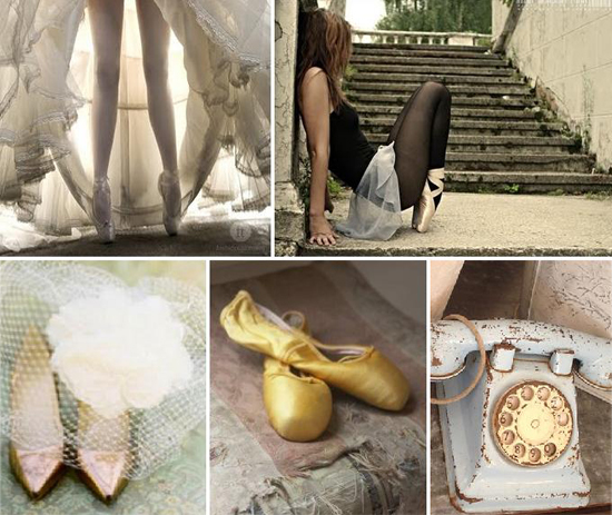 wedding inspiration: ballet chic
