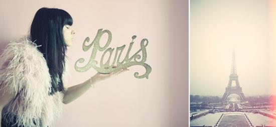 wedding inspiration: Paris Romance