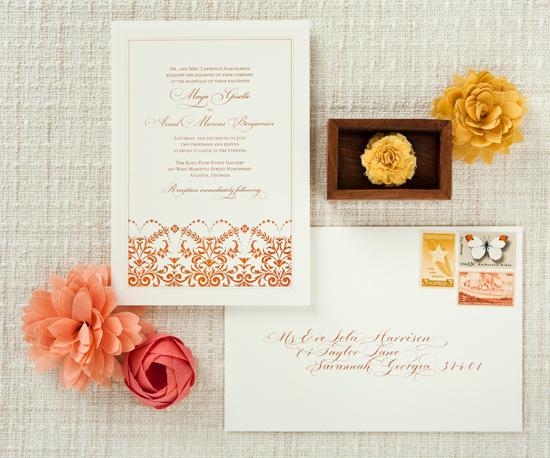 Betsywhite Stationery Wedding Invitation