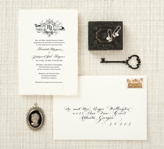 wedding invitation by betsywhite stationery