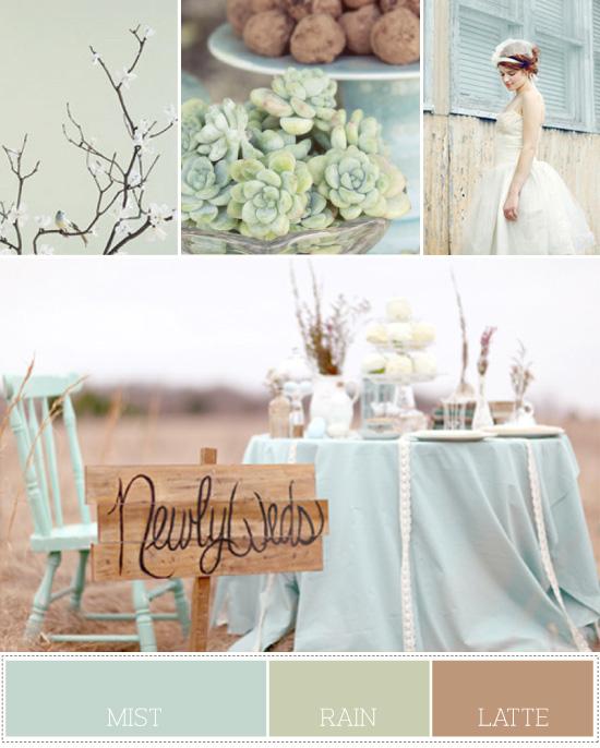 pastel wedding colors