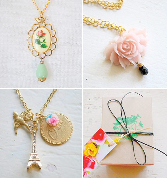 handmade vintage-inspired jewelry