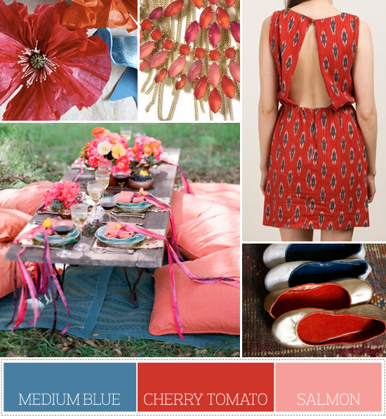 bright summer color palette