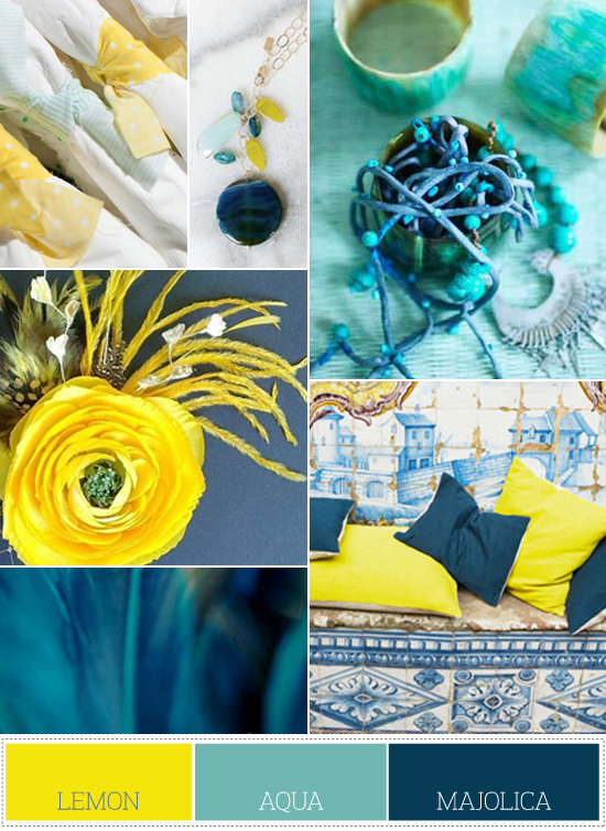 yellow and blue color palette