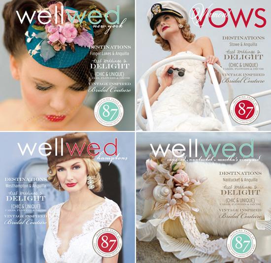 Betsywhite Stationery in WellWed Magazine