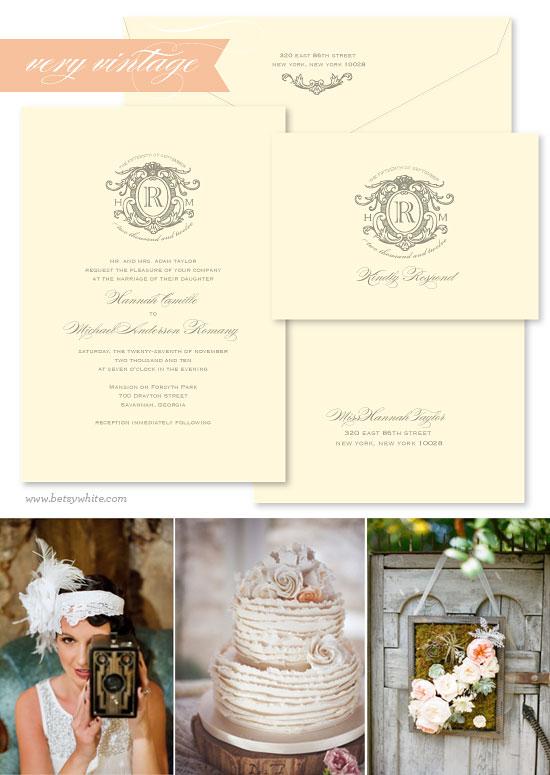 vintage wedding style, vintage wedding invitation, vintage wedding theme