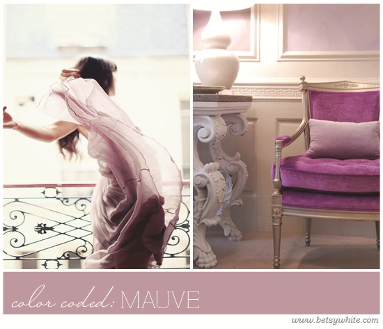 color coded: mauve