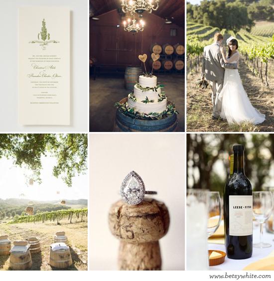 Inspiration: Lovely Winery Wedding