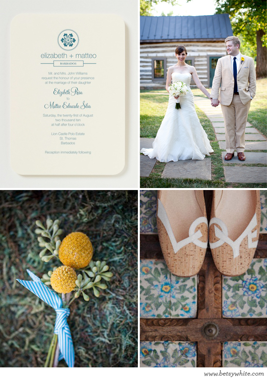 Inspiration: Early Spring Wedding