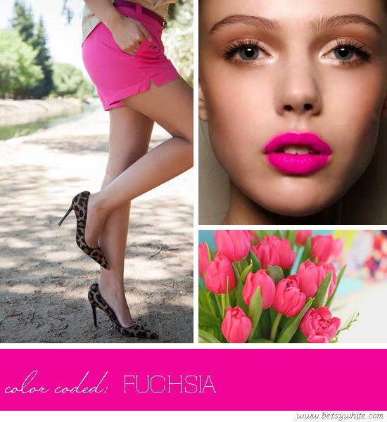 color coded - fuschia