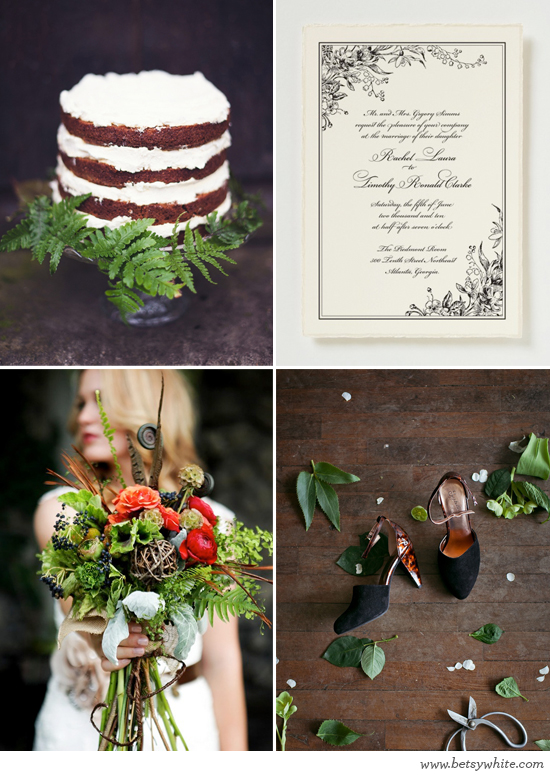 Rich Woodland Wedding
