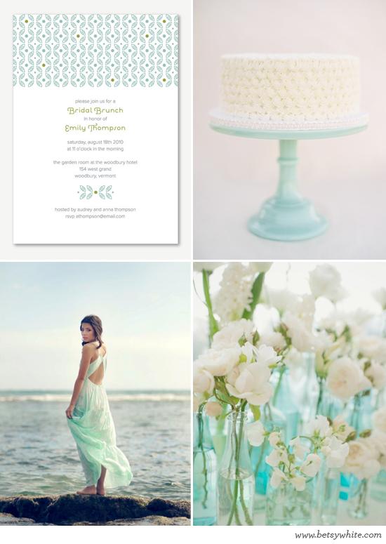 Aqua Beach Bridal Shower